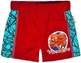 Marvel Boys Spiderman Swimming Shorts New Kids Navy Swimwear