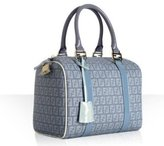 light blue spalmati zucchino 'Forever' small bowler bag