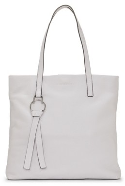 Vince Camuto Plum Leather Tote