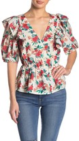Flying Tomato A.Calin Floral Printed Top