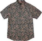 RVCA Men's Barrow Short Sleeve Woven Shirt