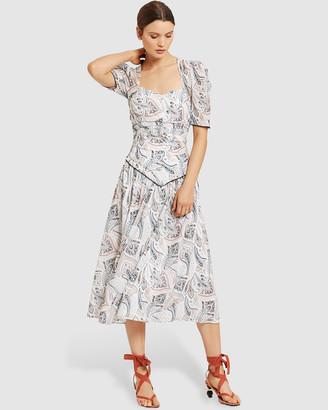 Stevie May Saffron Midi Dress