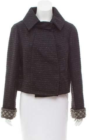 Valentino Embellished Tweed Jacket w/ Tags
