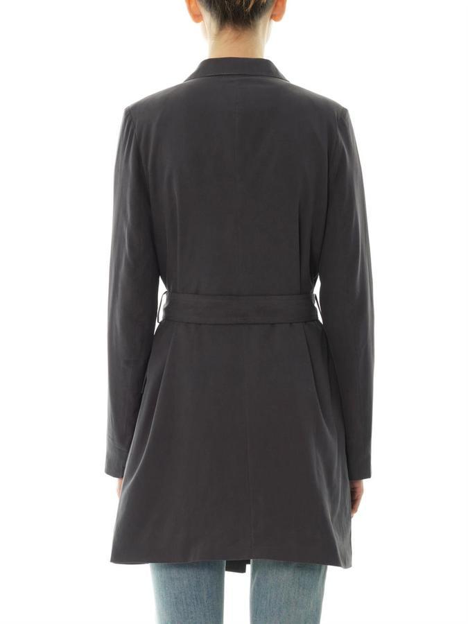 Each X Other Notch-lapel silk coat