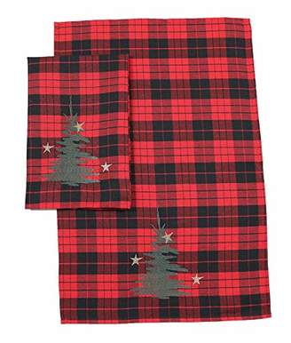 Manor Luxe Christmas Tree Decorative Towels