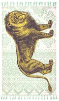 Thomas Paul Lion Tassel Cotton Rug