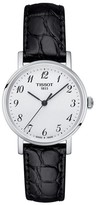 Tissot Women's Everytime Leather Strap Watch, 30Mm