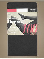 M&S Collection 100 Denier Thermal Opaque Tights