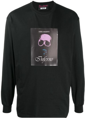 MSGM x Dario Argento print sweatshirt