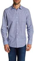 Robert Barakett Regular Fit Dobby Check Regular Fit Sport Shirt