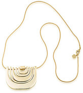 Trina Turk Retro Mod Pendant Necklace