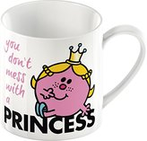 Mr Men & Little Miss Creative Tops Mr. Men Little Miss Princess Fine China Mug. Multi-Colour