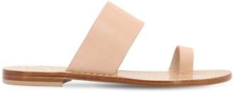 Capri Positano 10mm Leather Toe Ring Sandals
