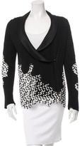 Chanel Knit Shawl Collar Blazer