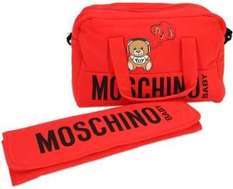 Moschino COTTON CHANGING BAG & CHANGING MAT