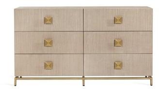Interlude Gaspard 6 Drawer Double Dresser