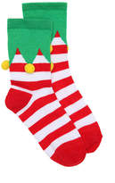 High Point Design Boys Elf Toddler & Youth Crew Socks