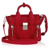 3.1 Phillip Lim Pashli Mini Shark-Embossed Leather Satchel