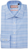 Thomas Pink Turner Slim Fit Plaid Dress Shirt
