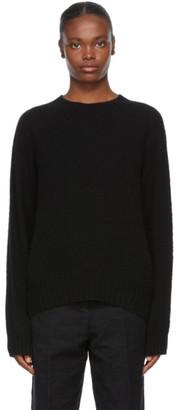 YMC Black Wool Jets Sweater