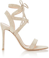 Gianvito Rossi Women's Zigzag Ankle-Strap Sandals-GREY