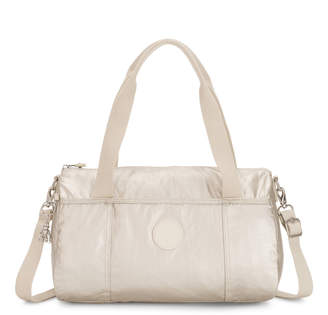 Kipling Vitoria Metallic Shoulder Bag