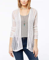 One Hart Juniors' Pointelle Cardigan, Created for Macy's