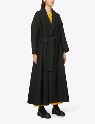 Toogood The Author belted wool-blend coat