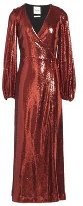 Black Coral 3/4 length dress