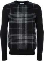 Comme des Garcons checked panel jumper