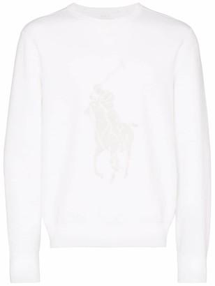 Polo Ralph Lauren motif-embroidered sweatshirt
