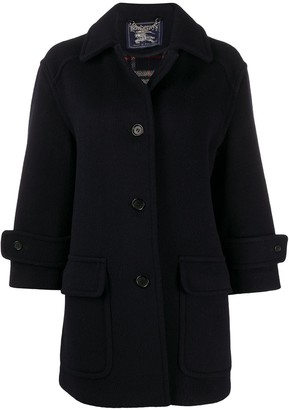 Burberry Pre-Owned 1990s Cutaway Collar Coat