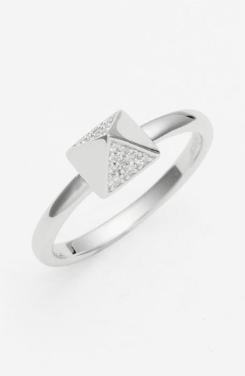 Tom Binns 'Bejewelled' Pavé Stud Ring