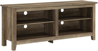 Hewson 58In Rustic Wood Tv Stand