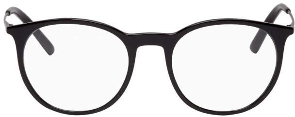 Dolce & Gabbana Black Round Glasses