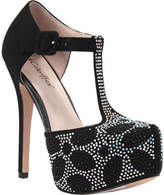 Coloriffics Women's Kacey - Black Synthetic Prom Shoes