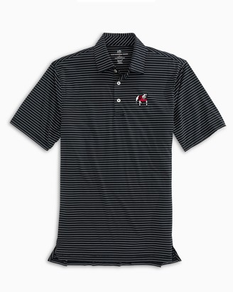 Southern Tide Georgia Bulldogs brrrStriped Polo Shirt