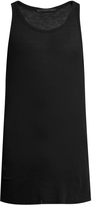 Haider Ackermann Fugazi ribbed-jersey tank top