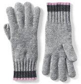 Lands' End Women's Cashmere Gloves-Snowboarder