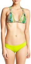 Maaji Lime Surrealism Reversible Cheeky Bikini Bottom