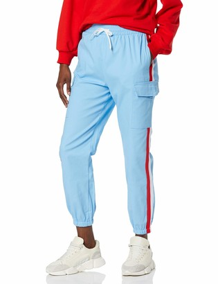 NEON COCO Women's Side Stripes Jogger Pants Trouser