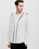 Hunter Vinyl Windcheater Jacket Opaque White