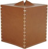 Arte & Cuoio Boutique Tissue Box-NUDE