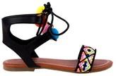 Nanette Lepore Kids' Pom Pom Sandal Pre/Grade School