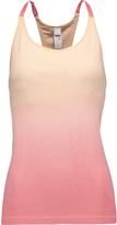 adidas by Stella McCartney Yoga Seamless dégradé stretch-jersey tank