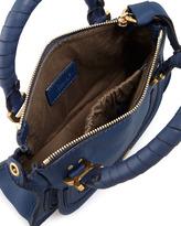Chloé Marcie Mini Shoulder Bag, Royal Blue