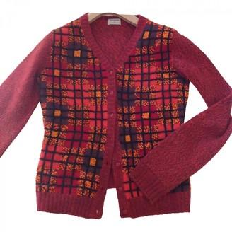 Philosophy di Alberta Ferretti Red Wool Knitwear for Women