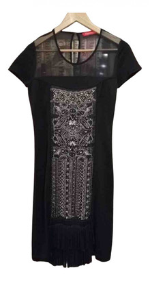 Christian Lacroix Black Silk Dresses