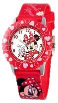 Disney Kid's Minnie Watch - Red