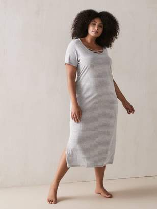 Long Striped Sleepshirt